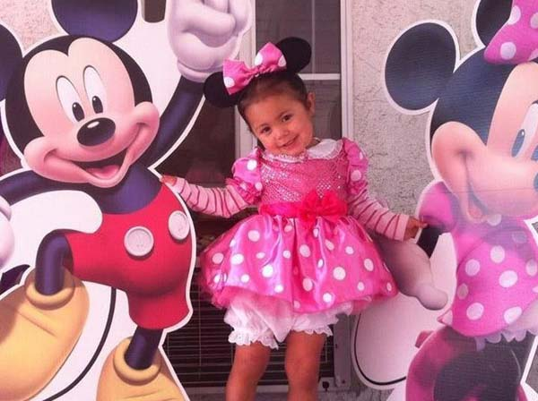 ABC7 viewer Trisha Berrios sent us this adorable photo of her little Minnie Mouse Olivia Felix. She&#39;s as cute as can be!&#160;Post your Halloween pictures on our ABC7 Facebook page. <span class=meta>(KABC Photo&#47; ABC7 viewer Trisha Berrios)</span>