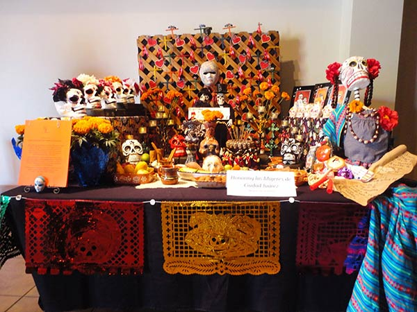 Mujeres De La Tierra entered this altar in a contest at the Museum of Latin American Art. It won first place! Vista L.A. covers stories with Latin flair that affect everyone in Southern California.