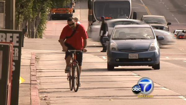 Proposal to protect bicyclists from motorists