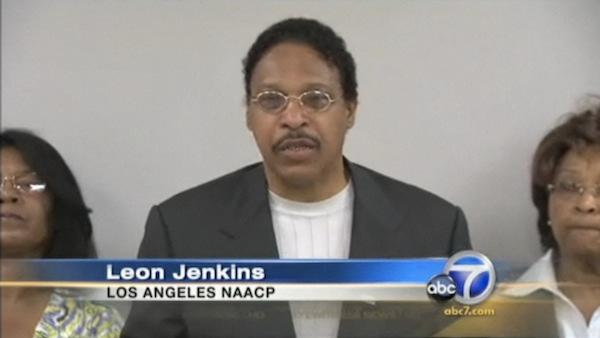 Leon Jenkins of the Los Angeles NAACP.