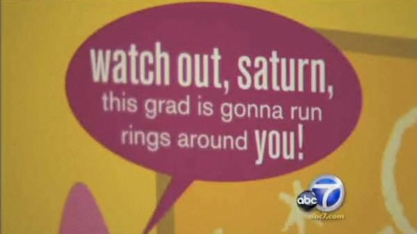 A graduation card sold at local stores has been pulled from shelves after a civil rights group raised concerns about th