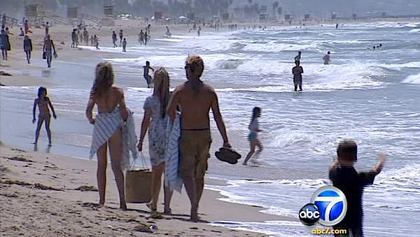 Report: Testing down on Calif. beach waters