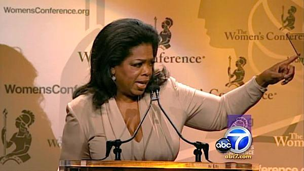 Oprah speaks at L.B. Women's Conference