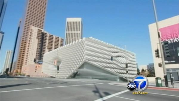 Plan for Broad museum unveiled in downtown LA