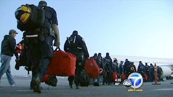LA search-rescue heads to Japan disaster zone