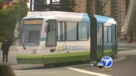 Funding has been approved by the Los Angeles City Council for a street car project that would serve areas in downtown L.A.