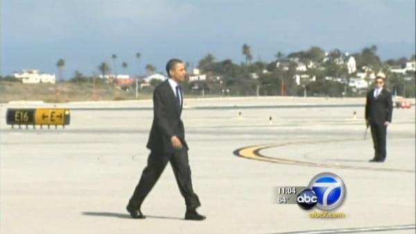 Obama raises $4 million at SoCal fundraisers