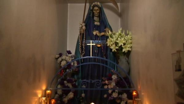 Catholic Church officials in Mexico have spoken out against Santa Muerte.
