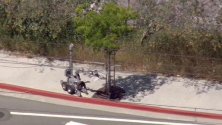 An investigation of a suspicious device in Los Angeles Little Tokyo district shut down the Gold Line on Tuesday.