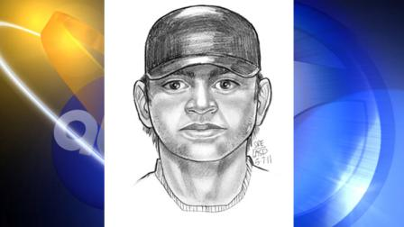 Police want you to take a close look at the sketch of a man wanted in the attack of a girl at a South Gate school.