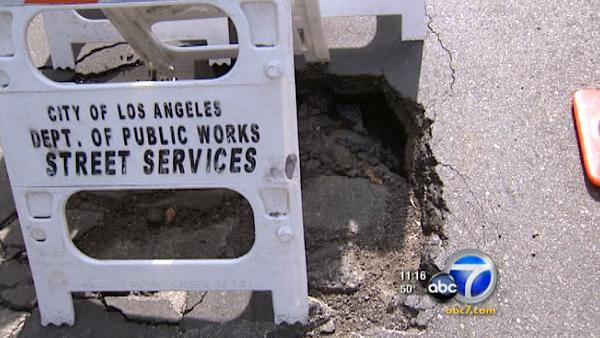 LA planning a 2-day blitz on potholes