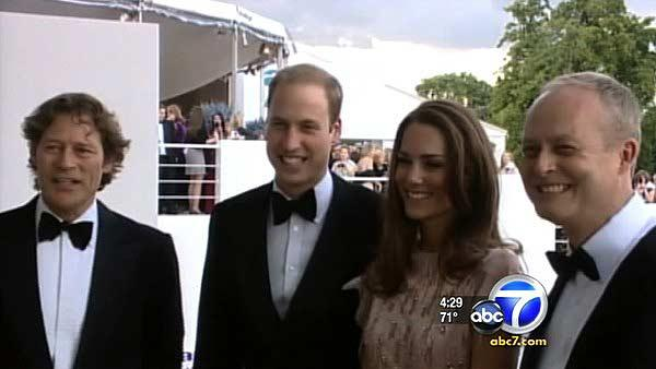 Prince, Kate's LA visit to include charity
