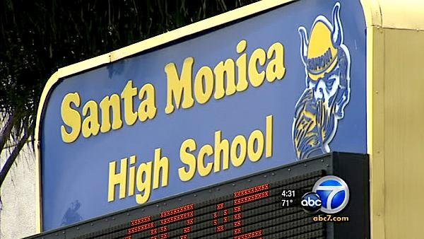 Hate crime alleged at Santa Monica High