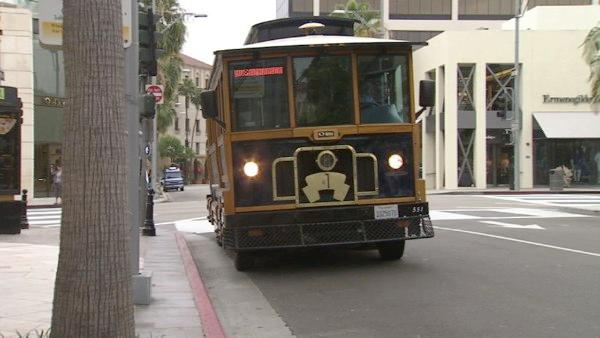 A great way to tour the city is to hop on the trolley. Take a ride through Beverly Hills on a 40-minute narrated tour of art, architecture and history of the city.