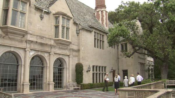 The next stop is the historic Greystone Mansion at 905 Loma Vista Dr. It is owned by the city of Beverly Hills.