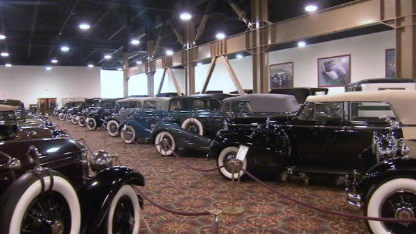 The Nethercutt Museum showcases more than 130 of the world's greatest antique, vintage, classic and special interest automobiles.