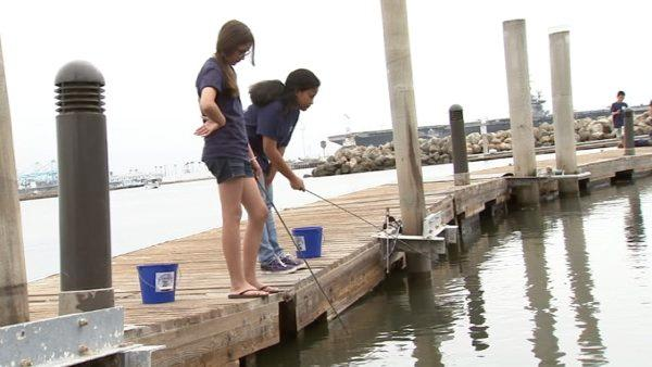 The Cabrillo Coastal Park boasts a launching pad for boats and a wooden deck for fishing.