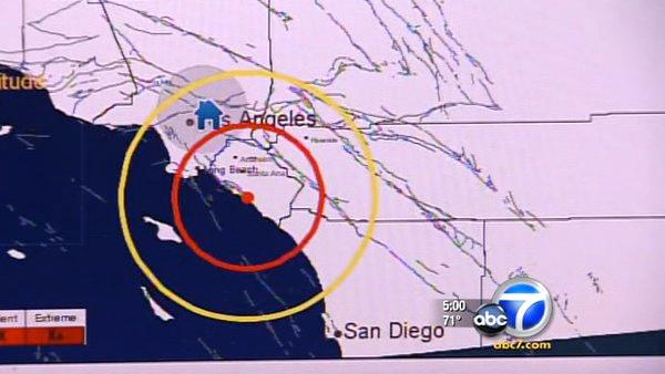 Seismologists test Calif quake warning system