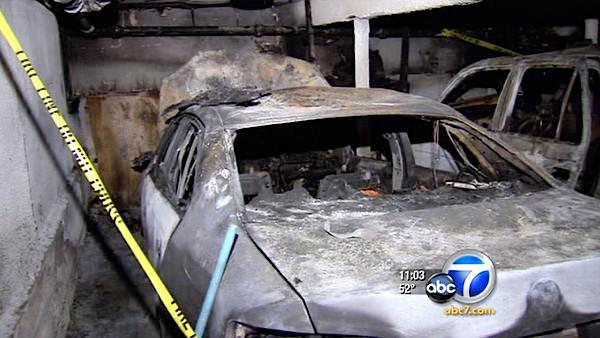 String of arson fires erupt around Hollywood