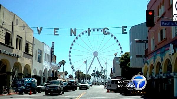 Venice Ferris wheel may arrive by July 4