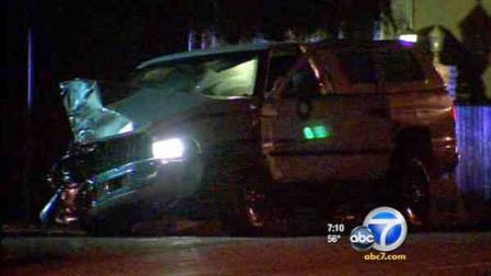 A wild police pursuit ended with a crash in Mid-City, and it started when an officer tried to stop a carjacking suspect on Saturday, March 10, 2012.