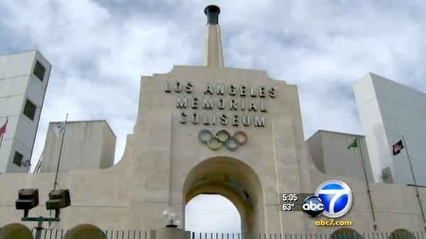 2 former LA Coliseum executives arrested