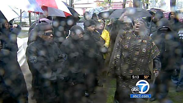 Trayvon Martin march held in South LA