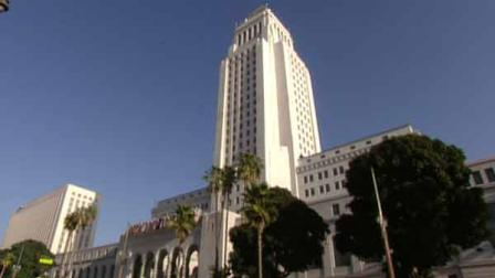 Los Angeles City Hall is seen in this undate file image.