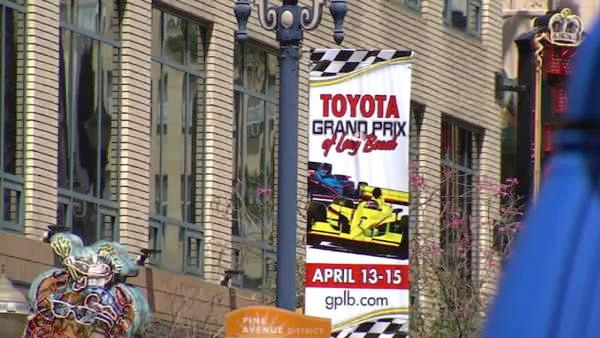 Indoors and outdoors, Long Beach is geared up and ready to host more than 200,000 people when the annual Toyota Grand Prix roars into town for a four-day weekend of fun.