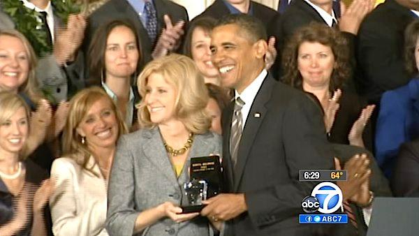 Nat'l Teacher of the Year returns to Burbank