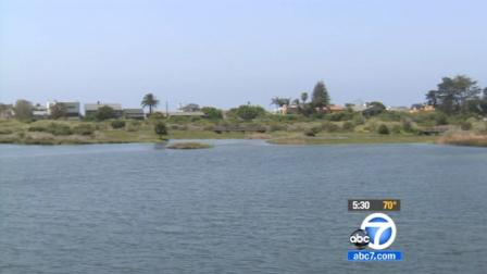 Malibu lagoon is seen in this undated file photo.