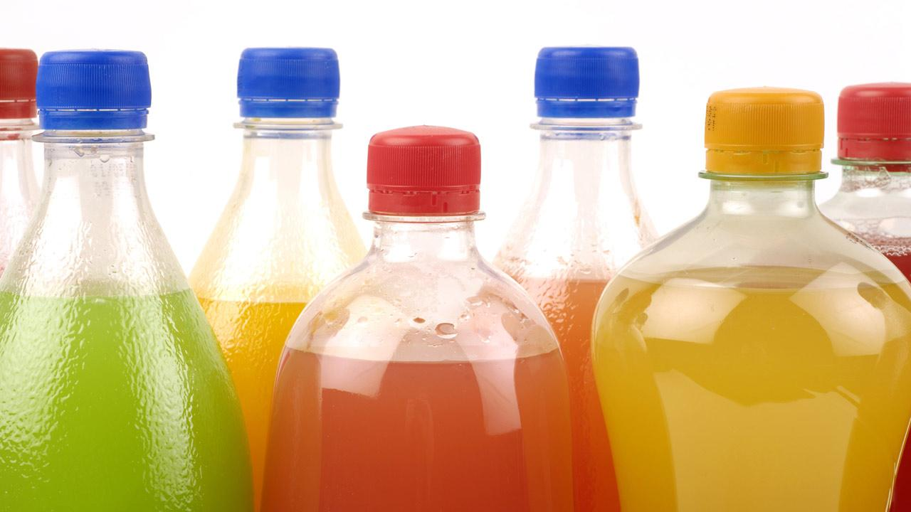 Generic soda bottles are shown in this undated file photo.