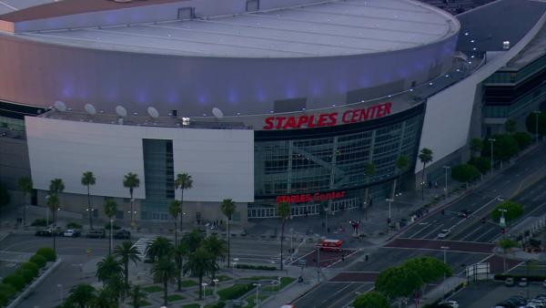Staples Center is the most checked-in place on Facebook's 2012 list of Los Angeles' most popular places for social networking.