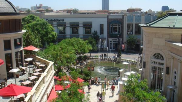 The Grove is the fourth most checked-in place on Facebook's 2012 list of Los Angeles' most popular places for social networking.