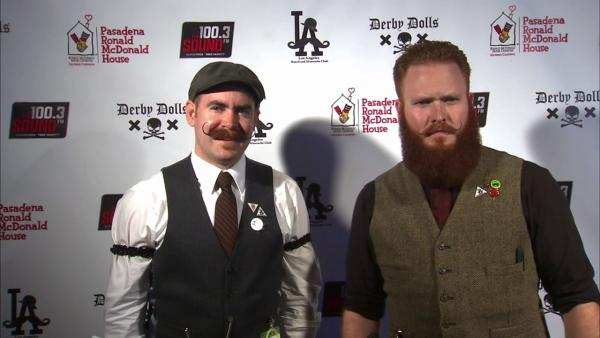 Participants of the second annual Los Angeles Beard and Mustache Competition are seen at the event at the Belasco Theater in downtown Los Angeles on Sunday, June 24, 2012.