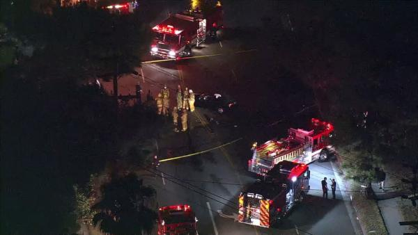 Northridge car crash kills 1; driver arrested