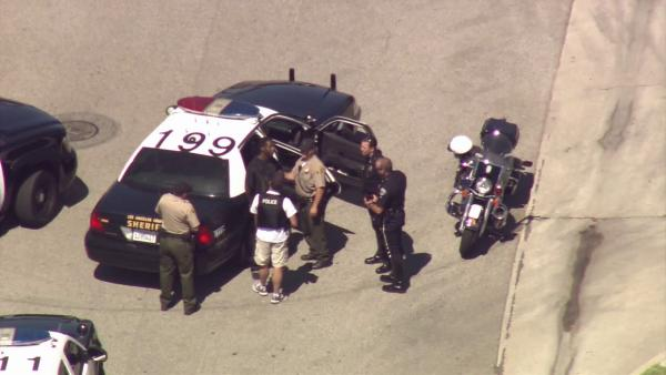 Torrance suspect opens fire on detectives