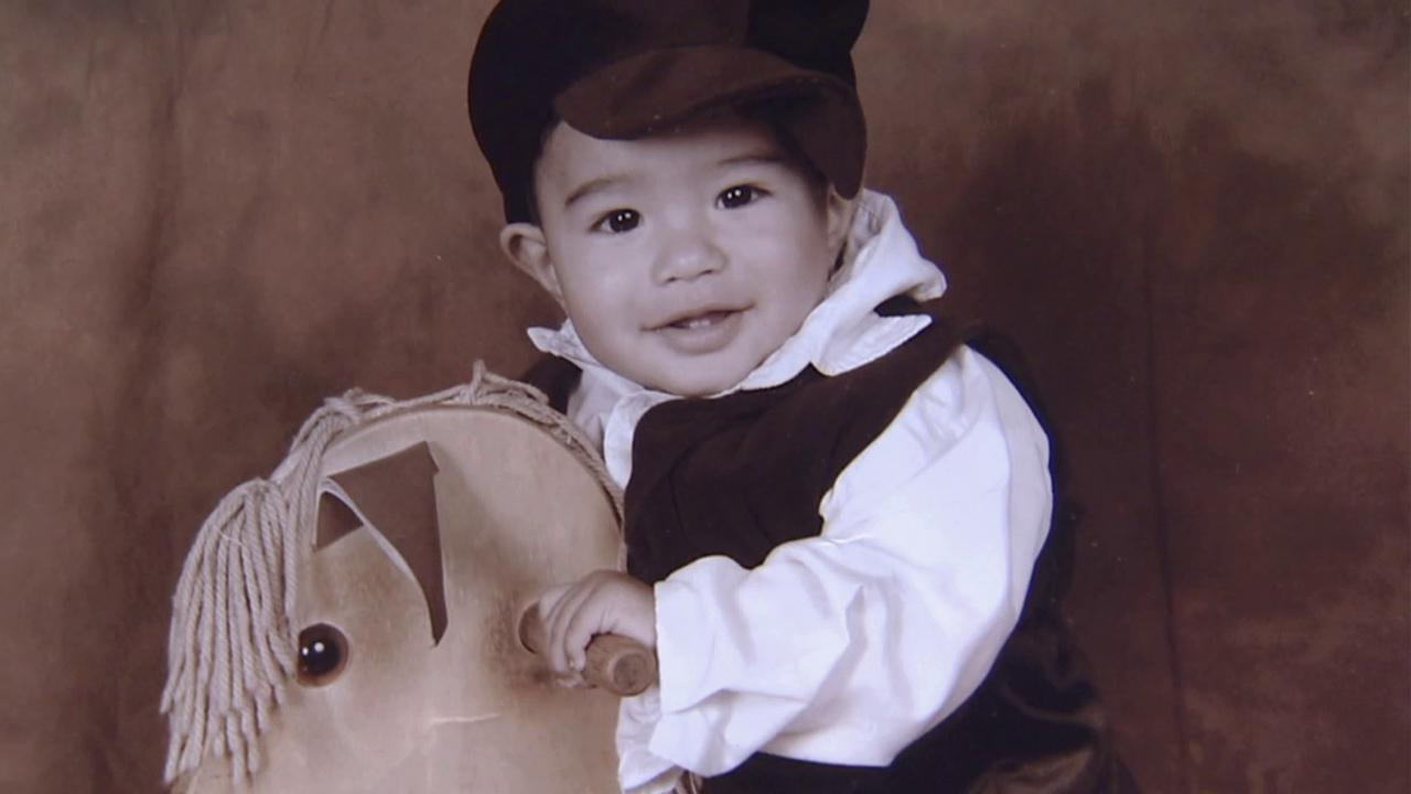 Angel Cotez, 14 months old, is seen in this file photo. The baby was shot dead in Watts on June 4, 2012.