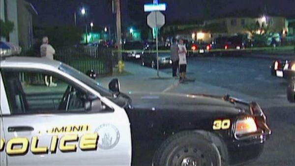 Gang member points gun at officers in Pomona