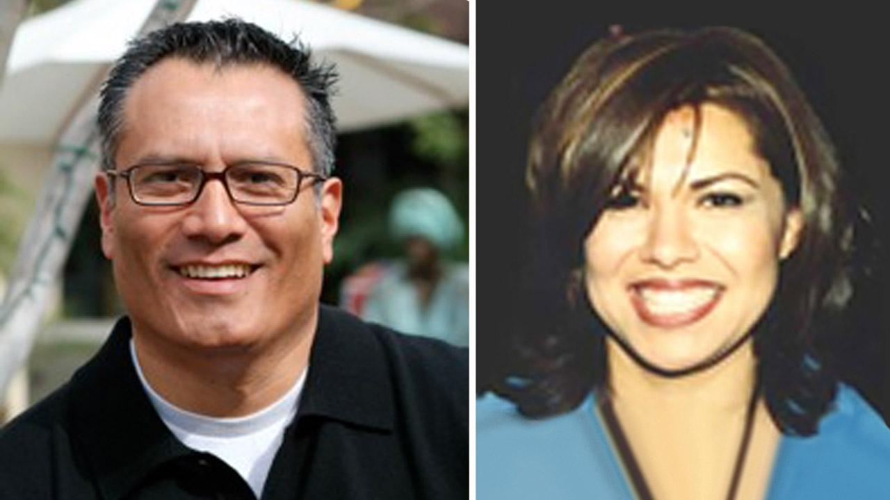 Former San Fernando Councilman Mario Hernandez (left) and Councilwoman Maribel de la Torre (right) appear in these undated file photos.