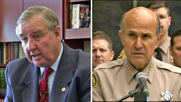ACLU files suit against Cooley, Baca
