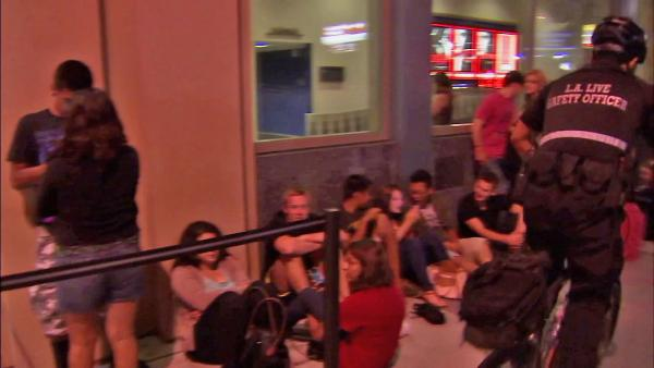 LA security upped after theater shooting
