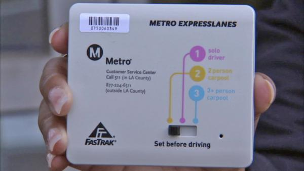 Commuters need transponders for ExpressLanes