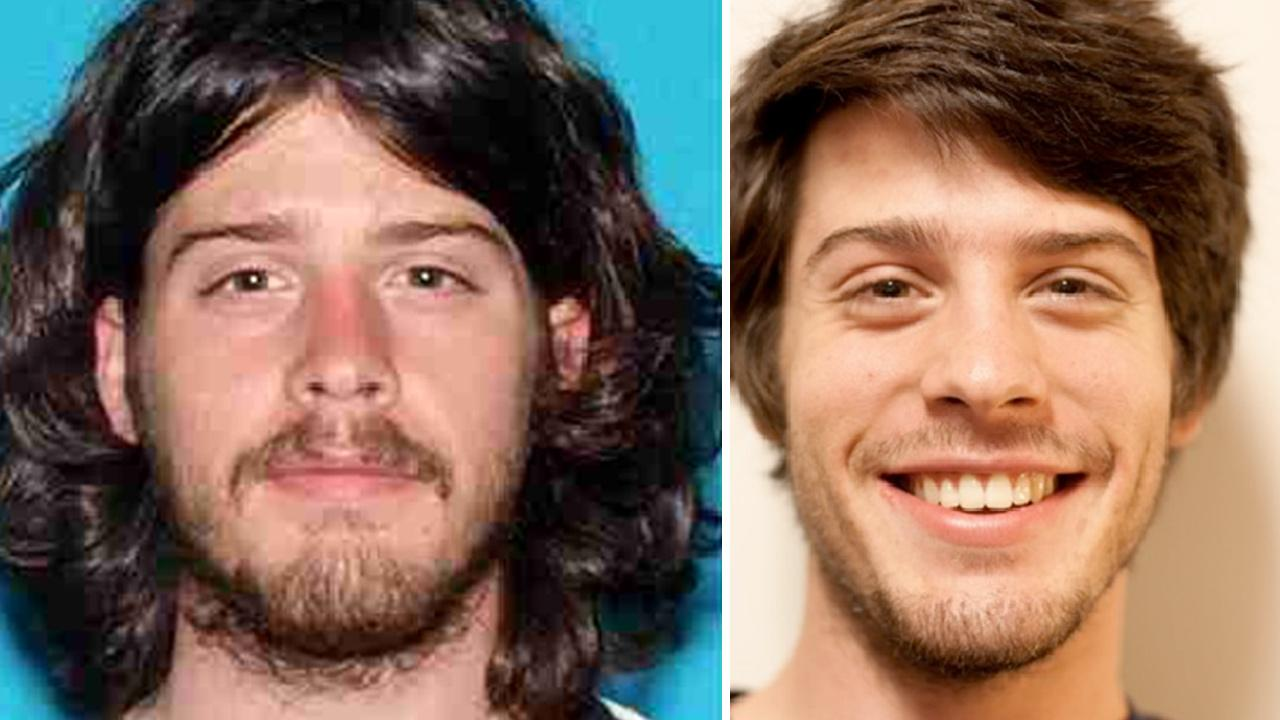 David Goeser, 22, is seen in these two undated photos.
