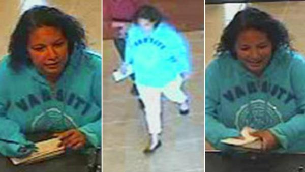 'Plain Jane Bandit' suspect in FBI custody
