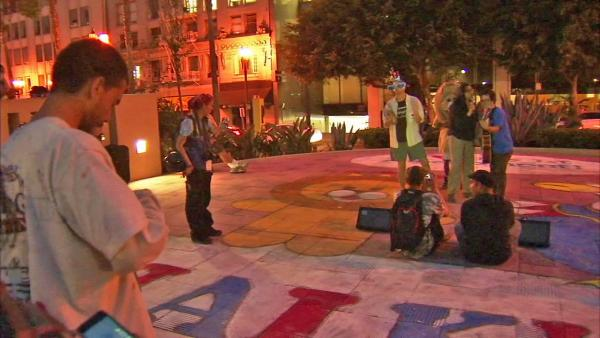 Occupy LA makes peaceful return to Art Walk