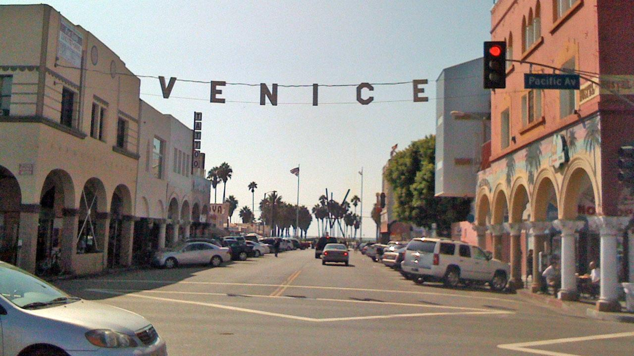 Venice Beach is shown in this undated file photo.