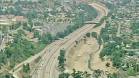 Part of the 710 Freeway is seen in this undated file photo.