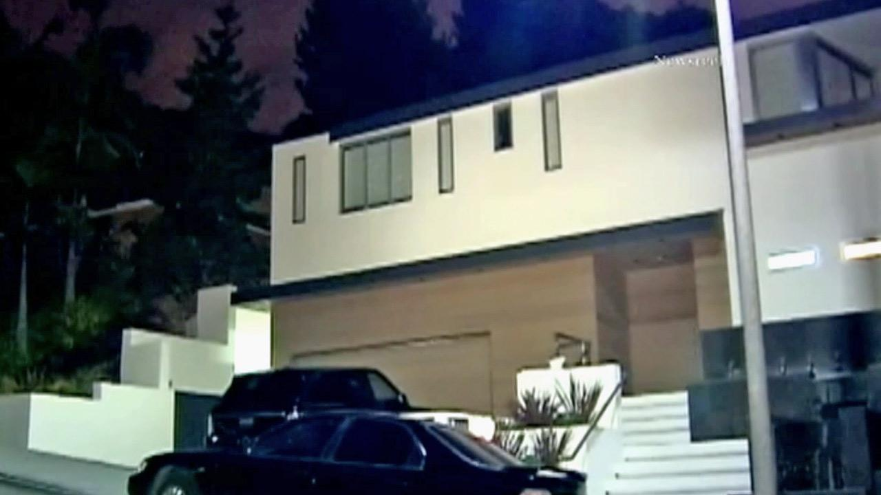 A home on the 1700 block of Doheny Drive in Hollywood, shown in this image, was the target of a home invasion on Thursday, Aug. 16, 2012.