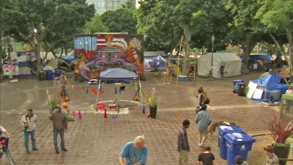 Occupy LA sees fallout from downtown community